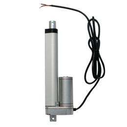 Wholesale 12v Mini Motors - 150mm 6 inches Solar Tracker Stroke Electric Linear Actuator 12V DC 150KG Load 5.7mm sec Seed Mini Linear Tubular motor motion