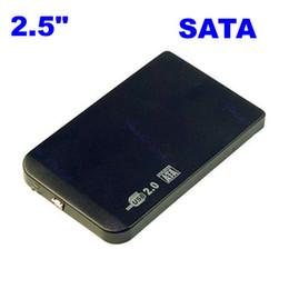 "Wholesale Bag External Disk - Wholesale- Slim 2.5"" SATA HDD USB 2.0 External Box Hard Disk Driver Enclosure Case+Bag"
