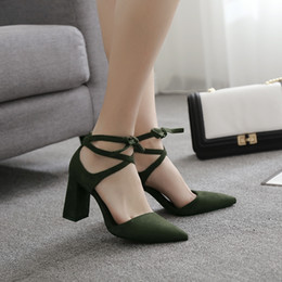 Wholesale cheap ladies high heel shoes - Cheap high heel lady's sandals good quality pointed toe ankle strap summer Ladies shoes free shipping YonDream-362