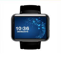 Wholesale Waterproof Watch Phone Wifi - Android 5.1 Smart Watch Phone MTK6572 Quad Core DM98 Bluetooth Smartwatch 3G SIM Wifi GPS Sports Watches WCDMA Smartphone