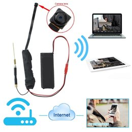 Wholesale Access Boards - 32GB HD 1080P Wireless WIFI IP P2P Camera Module Board Camera Mini Hidden Camcorder DV DVR Micro Monitor By Phone or Computer