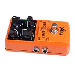 Wholesale Nux Delay - NUX Time Core Guitar Effect Pedal 7 Delay Models True Bypass High Quality Guitarra Effect Pedal