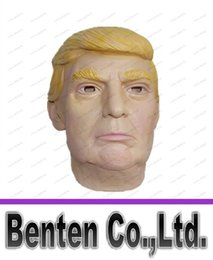 Wholesale real estates - Latex Mask Of New President Competitor Donald Trump 2016 American Election Candidates The Real Estate Magnate Trump 's Same Latex Masks LLFA