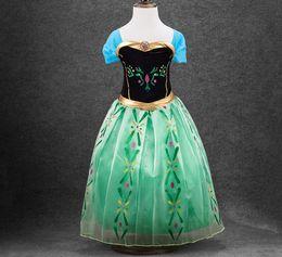 Wholesale Short Sleeve Cardigans For Girls - Girls dress summer long sequin princess dress vestido infantil dresses kids clothes Vestidos kids dresses for girls 3-14years