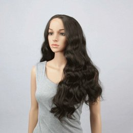Wholesale Synthetic Brazilian Weaving Hair - Free shipping Grade 8A Brazilian full lace Closure human hair weave 4x4 Free Middle 3 Part 100% Unprocessed Virgin Human Hair..
