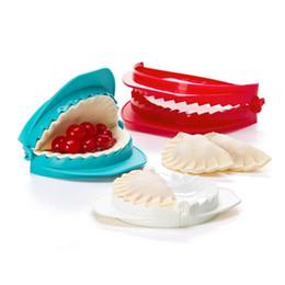 Wholesale Ravioli Dough - 3PCS Dough Press set Plastic Dumpling Maker Moulds Cutter Pie Ravioli Mold Pie Maker pastry Tools