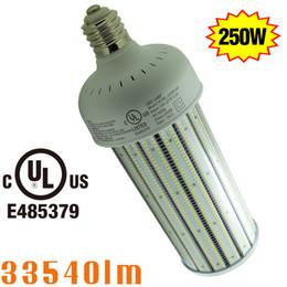 Wholesale Fixture Cover - UL Listed LED Corn Light Bulb 250W with PC Cover Dustproof Retrofit 1000Watt HID Warehouse High Bay Fixture 6000K Daylight E39 Mogul Base