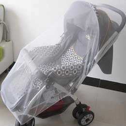 Wholesale Midges Net - Wholesale- 1PCS By Pram Pushchair Mosquito Net Fly Midge Insect Bug Cover Stroller Protector