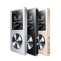 Wholesale Speaker Memory - Wholesale- New Original HiFi MP3 Player with Speaker Metal High Quality 8GB Lossless Music Player Supports 128GB Memory Card with FM Radio