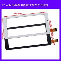 Wholesale Mtk6577 Dual Core Tablet - Wholesale-replacement 7 inch MTK6577 MTK6572 dual core Tablet PC TP FM707101KD FM707101KC FM707101KE HS1275 touch screen panel Digitizer
