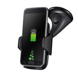 Wholesale Lg Nexus Dock - Car Mount Wireless Charging Pad, Qi Wireless Charging Vehicle Dock for Samsung Galaxy Note 5 S7 Edge S6 Edge Plus Nexus 5 7