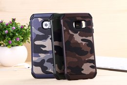 Wholesale Hybird Hard Back Cover - Camouflage Heavy Duty Hybird Army Case For Iphone 7 6s 6 Plus Samsung Galaxy S6 Edge S8 LG G5 ShockProof Hard Back Cover