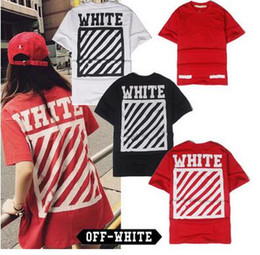 Wholesale Shirt Button Covers Men - OFF WHITE C O new T shirts Men Women Brand Clothing Religious Outerwear Tee Hip Hop Skateboard PALACE VLONE Male Tee and T shirts 2017