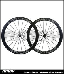 Wholesale Painting Roads - Free shipping 25mm width 50mm depth with Roval painting carbon wheelset full carbon 700C road bike bicycle wheelswheels