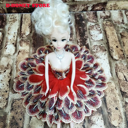 Wholesale Toy Babe - Moveable Joint Body Princess Babe Doll handcrafted Wedding Design Dress Suite Kids Toy Brinquedo Girl Gift