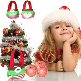 Wholesale christmas stocking boxes - New Fairy Christmas Candy Box Christmas Decoration Christmas Candy Bags Lovely Gifts Stocking For Children free shipping B0909