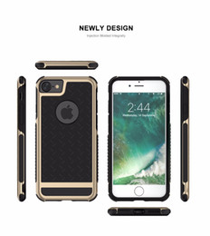 Wholesale Pc Water Cooling Fitting - FLOVEME Case for Apple iPhone 7 7plsu Silicone Hard PC Soft Rubber Paladin Series Cool Phone Bags Case for iPhone 6S 6Splus Cover