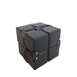 Wholesale Detachable Bike - EDC Stress Reliever Finger Toys Portable Infinity Cube Puzzle Novelty Fidget Toy Detachable Magic Cubes High Quality ABS Material 18gy B