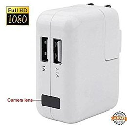 Wholesale Spy Chargers - Full HD 1080P USB Wall Charger Spy Camera Motion Detection AC Power Adapter Hidden Pinhole Camera Loop Recording DV DVR CCTV Security Camera