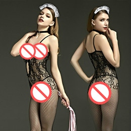 Wholesale Flooring Products - Sexy Bodystockings Sex toys erotic fashion lingerie lace sleepwear intimates Kimono Sex products crotchless women hot bodysuits