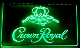 Wholesale Crown Derby - LS018-g Crown Royal Derby Whiskey NR beer Bar LED Neon Light Sign.jpg