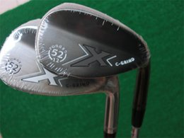 Wholesale 52 degree wedge - X C-Grind Wedges C-Grind Golf Wedge Golf Clubs 52 56 60 Degrees Steel Shaft With Head Cover