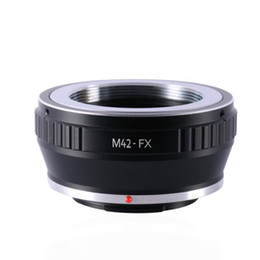 Wholesale X E1 - Wholesale- M42-FX Adapter Ring M42 Lens to Fujifilm X Mount Fuji X-Pro1 X-M1 X-E1 X-E2 M 42