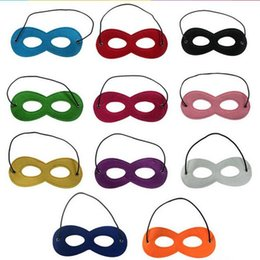 Wholesale Assorted Dress - Felt Mask Cosplay Costume Party Dress Up Halloween Mask with Elastic Ribbon Assorted Color 100 p