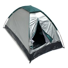 Wholesale Backpacking Tents Sale - Hot Sale PE Cloth Waterproof PU 3000MM ultralight Single Layer 2 person 4 season outdoor travel Camping hiking Tent