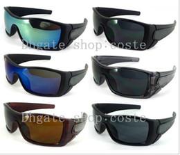 Wholesale Batwolf Sunglasses - 2017 Fashion men's batwolf sunglasses Women's sport sun glass Goggle Sunglasses 9color Mix order SUNGLASSES not case