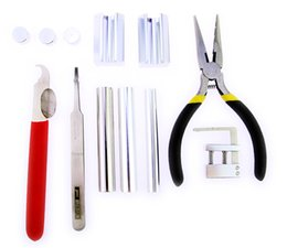 Wholesale Lock Pick Tool Kit - HUK Professional 12 in 1 HUK Lock Disassembly Tool Kit Remove Lock Repairing Lock Pick Set
