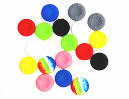 Wholesale Cheap Ps4 - Cheap price Silicone Thumb Stick Grip Cap Cover Controller Cases Covers For PS3 PS4 XBOX360 ONE wii nintendo one