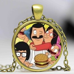 Wholesale Slid Toy - New Steampunk Drama Bob's Burgers Pendant Necklace doctor who 1pcslot brass silver chain mens 2016 women men boy toy girl gift