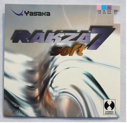 Wholesale Yasaka Rubber - Free shipping,Yasaka rakza7 soft ( RAKZA 7 soft, rk 7 soft ) R7 RUBER mixed anti-adhesive pingpong rubber table tennis rubbers for racket