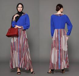 558d1f103 Vestidos a rayas maxi del otoño del maxi vestidos de las mujeres de Oriente  Medio Dubai Vestidos formales árabe más FS2500 cheap cheap striped maxi  dresses