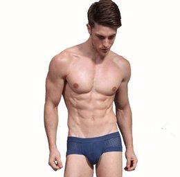 Seksi Örgü Modeli Eşcinsel Bikini brifes erkek külot Büyük yumuşak U Tasarım çıkıntı Buz ipek Bump erkek Iç Çamaşırı iç çamaşırları mix sipariş cheap men s silk bikinis nereden erkekler ipek bikini tedarikçiler