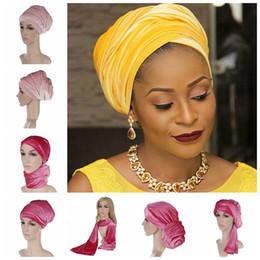 Wholesale Velvet Top Hat - 2017 New Europe Women indian beanies caps Fashion Plain Color Velvet Muslim Turban Hats Indian Caps top quality