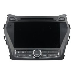 Wholesale Fe Tv - High quality Android5.1 Car DVD player for Hyundai Santa Fe IX45 with GPS,Steering Wheel Control,Bluetooth, Radio