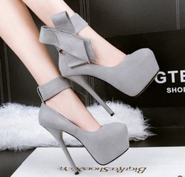 Wholesale Red Bowtie Peep Toe Heels - wholesaler free shipping factory price U.S shoe patent leather high heel women shoes feature female high heels shoes129