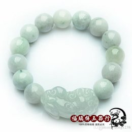 Wholesale Eastern Dance - Natural a jadeite jade bracelets lucky evil jade bracelet hand ring dance men's and women's jewelry jewelry special offer