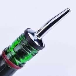 Wholesale Wine Bottle Cap Pourer - New Stainless Steel Stopper Wine Bottle Caps Bar Supplies Bottle Spout Pourer