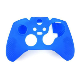 Wholesale Protective Case Xbox - Silicone Cover Case For Xbox One Joystick Controller Silicone Gel Protective Case For XboxOne Controller Wireless