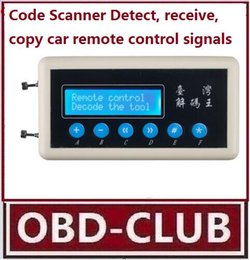Wholesale 433mhz Remote Control Code Scanner - 433MHz Car key remote control Wireless Remote Key Code Scanner Detect receive copy car remote control signal Code Scanner Detect