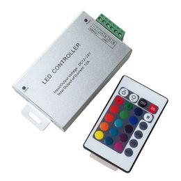 Wholesale Mini Led Modules - 50PC DC12V-24V 3 Channel 4A each channel 12A 24A RF LED Remote Controller 20 Key RGB Wireless Led MINI Controller for Strip Module String