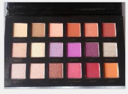 Wholesale Pro Set - New Beauty Desert Palette Eyeshadow 18 colors Shimmer Matte Eye shadow Pro Eyes Makeup Cosmetics