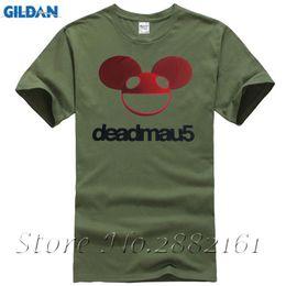 Música camiseta dj on-line-Deadmau5 Verão T Shirt Mais Atual DJ Music T-shirt Das Mulheres Dos Homens Deadmau 5 Eletrônico DJ Ratos Ratos DISCO Tees