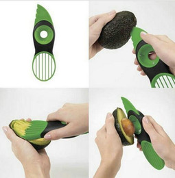 Wholesale Multi Slicer - 3-in-1 Avocado Slicer Peeler Skinner Multi-functional Good Grips Gadget Avocado Slicer Kitchen Food Utensil Tool KKA2032