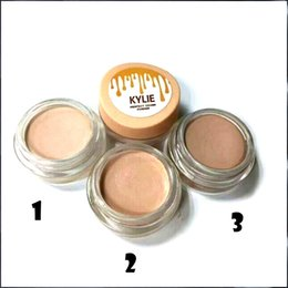 Wholesale Perfect Powder - New Kylie Concealer Perfect Cover Powder Contour Kit Face Powder Cream Conclear Brand Cosmetic 3Colors DHL Free Shipping