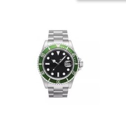Wholesale Swiss Movement Dive Watches - Free Shipping Mens automatic watch luxury swiss men watches automatic movement mechanical green bezel date dive wristwatch