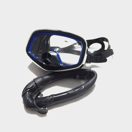 Wholesale Mask For Underwater - Wholesale-2016 Time-limited Snorkel + Mask For Scuba Diving Swimming Submersible Underwater Set Kits Silicone MS24619